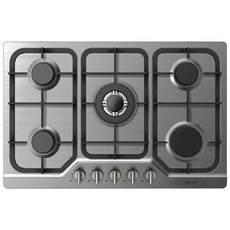 piano cottura incasso 5 fuochi piano cottura 5 fuochi componenti cucina