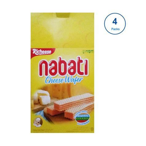 Nabati Wafer Richoco 8 Gr Isi 20 Pcs jual richeese nabati wafer dus 80 pcs harga kualitas terjamin blibli