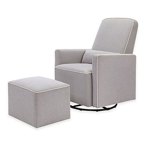 olive swivel glider and ottoman by davinci davinci olive upholstered swivel glider and ottoman in