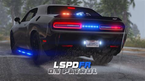 challenger cop car lspdfr day 427 dodge challenger hellcat car