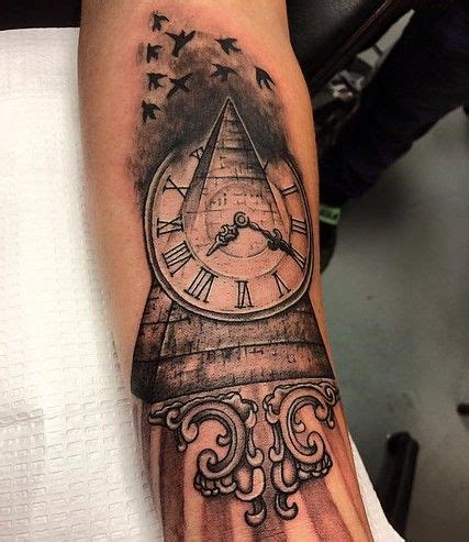 pyramid clock tattoo 61 best tattoos by tricia atkinson images on