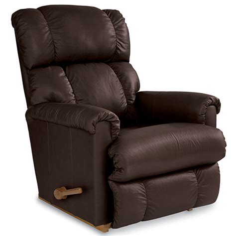 la z boy recliner leather la z boy pinnacle leather rocker recliner boscov s