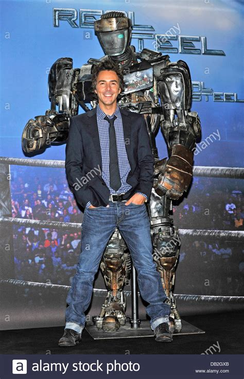 film robot atom us canadian director shawn levy poses with robot atom