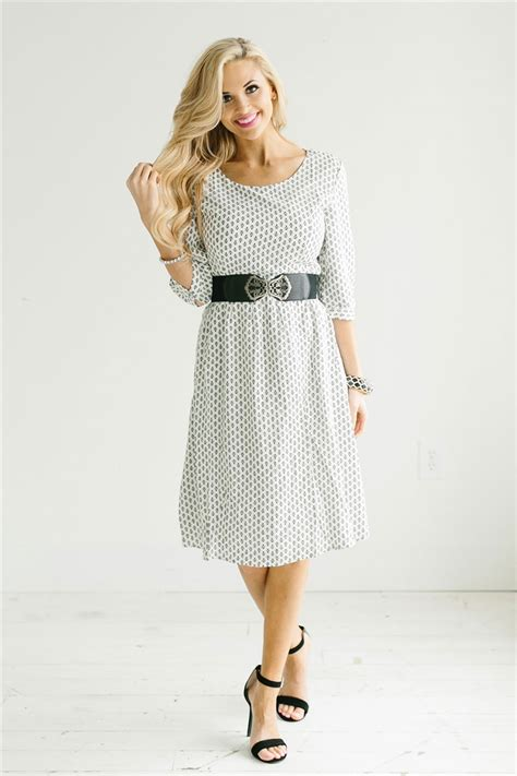 7 Modest Yet For by White Black Modest Dress By Mikarose Modest Church