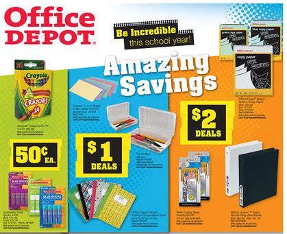 Office Depot Deals Office Depot Back To School Deals For The Week Of