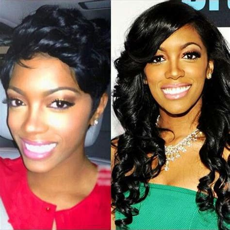 porsha stewart short hair cut 17 best images about kesha s closet porsha williams