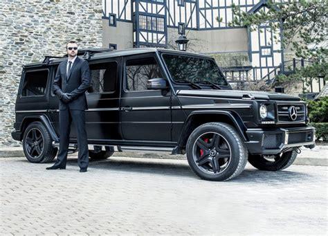 mercedes jeep matte black inside the 1 million mercedes g63 amg