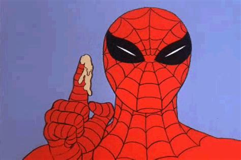 Spiderman Meme Gif - 1967 spiderman gifs find share on giphy