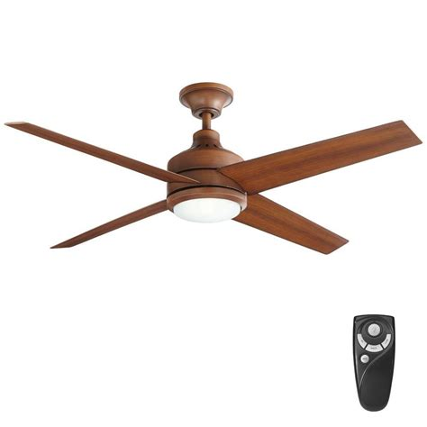 mercer 52 ceiling fan home decorators collection mercer 52 in led indoor