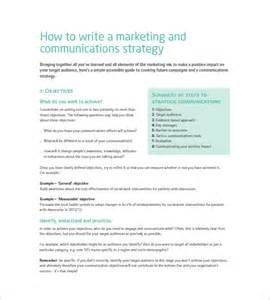 marketing communications plan template marketing communication plan template 10 free word