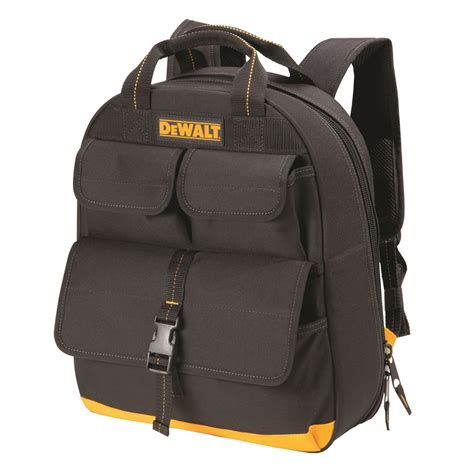 tool bag backpacks dewalt dgc530 20v 23 pocket usb charging tool backpack