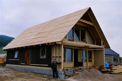 Modern A Frame House Plans by Efficiency Swedish Timber Framed Homes Self Build Homes