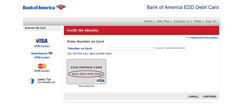 bank of america login in bank of america edd debit card login banking