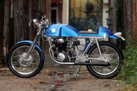 honda cb350 caf 233 racer by team racing silodrome