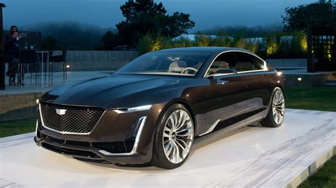 cadillac escala shows  future  caddy models