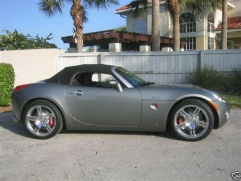 Pontiac Solstice V8 by Find Used 2006 Pontiac Solstice Mallett Cars Corvette