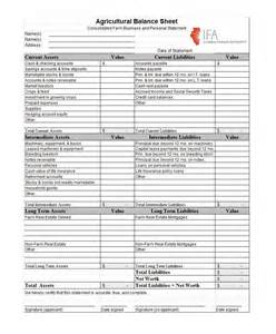 Checking Account Balance Sheet Template by 38 Free Balance Sheet Templates Exles Template Lab