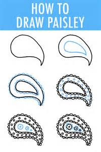 simple drawing patterns how to draw paisley in 6 easy steps