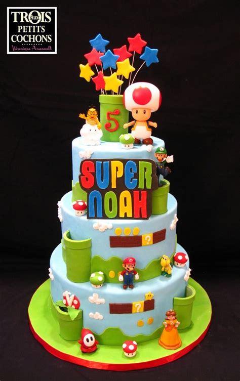 super mario cakes images  pinterest
