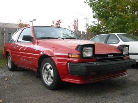 1984 Toyota Corolla Gts For Sale Picture Of 1984 Toyota Corolla Gts Exterior