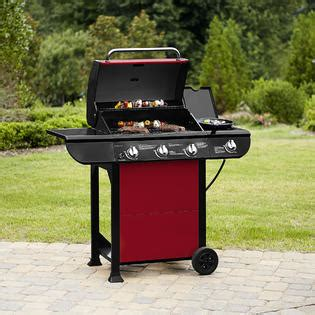 bbq pro 3 burner gas grill with side burner