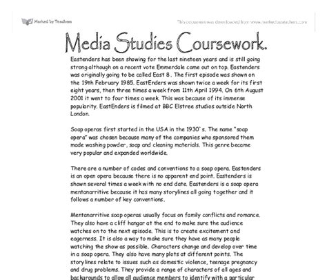 Coursework Essay how to write an essay for media studies order custom essay www consortemarketing