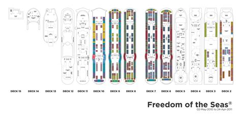 Freedom Of The Seas Floor Plan | royal caribbean international freedom of the seas