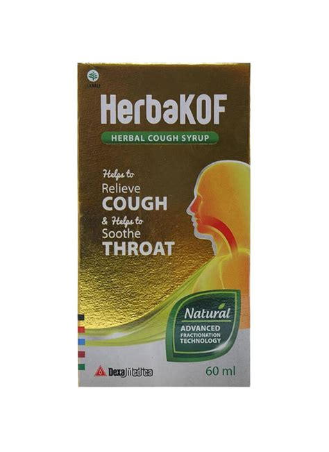 Obat Herbakof herbakof herbal cough syrup btl 60ml klikindomaret