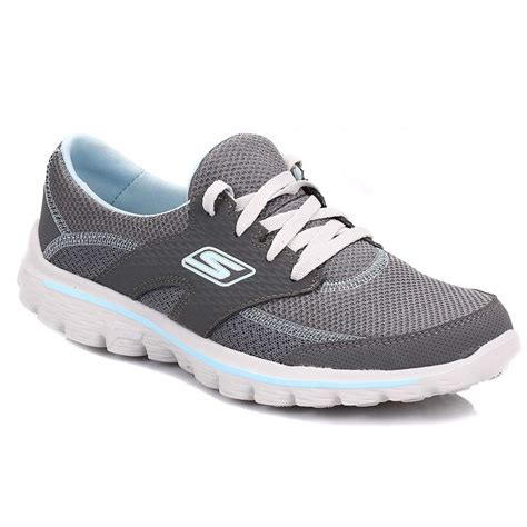 Skechers Original 1000 Garansi skechers womens charcoal blue go walk 2 trainers