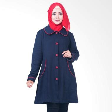 Believe Jaket Bjm 01 jual believe bjm 03 jaket parka ziper hoodie casual kaos jaket muslim wanita biru