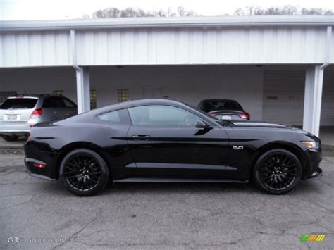 2015 mustang gt colors 2015 black ford mustang gt premium coupe 103361936