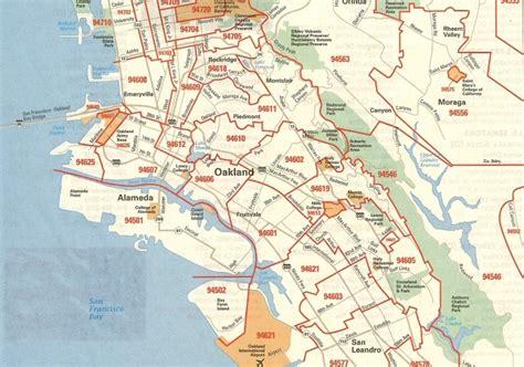 zip code map bay area san francisco zip code map