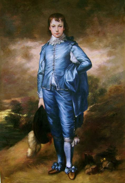 blue boy painting gainsborough the blue boy painting repro 24x36 ebay
