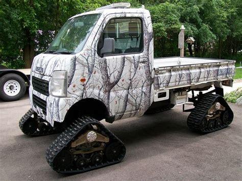 suzuki box truck suzuki carry 4x4 mattracks xt ur system road fora