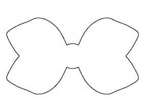 printable hair bow template