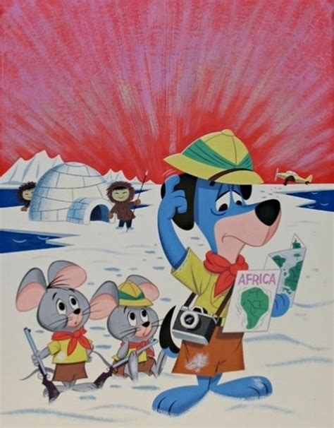 pixie and dixie huckleberry hound huckleberry hound with pixie and dixie vintage cartoon