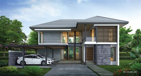 4 Bedroom Modern House Plans re h2 505 230 4 3