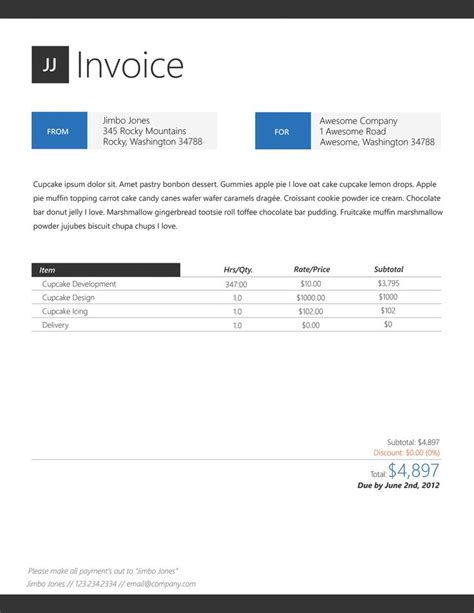 design project invoice template 1000 images about document business on pinterest