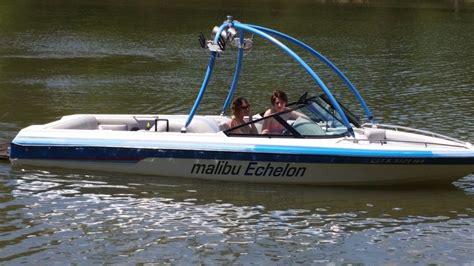 mastercraft competition ski boat malibu echelon competition ski boat echelon 1993 for sale