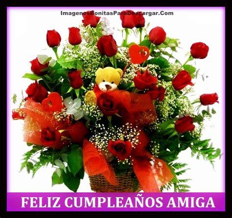 Imagenes Para Una Amiga Con Rosas | tarjetas con rosas para cumplea 241 os para descargar
