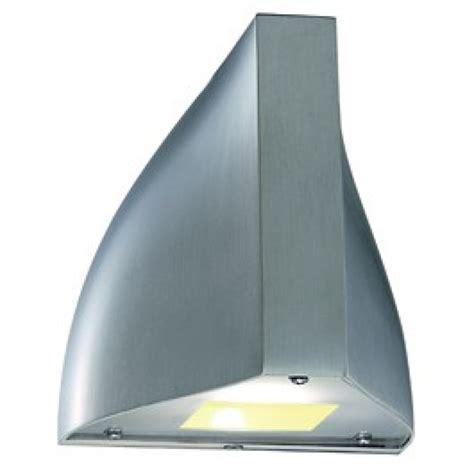 tenda outdoor tenda led outdoor wall light brushed aluminium 229641