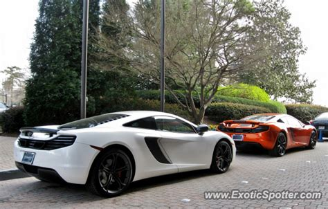 mclaren mp4 12c spotted in atlanta on 02 20 2013