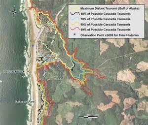 tsunami map oregon coast oregon tsunami information clearinghouse oregon dept of