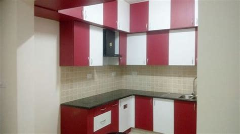 modular kitchen designs red white modular kitchen