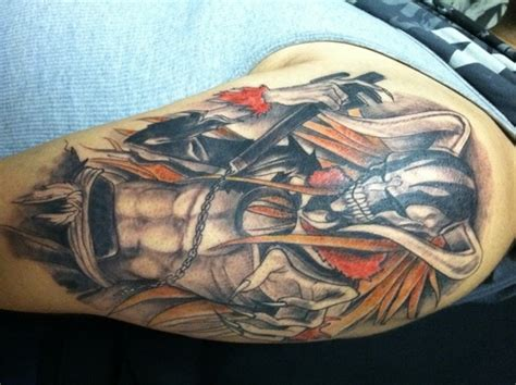 bleach tattoo hollow ichigo anime fan 20094249 fanpop