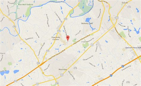 map of norcross medlock trace townhomes in norcross ga home in norcross