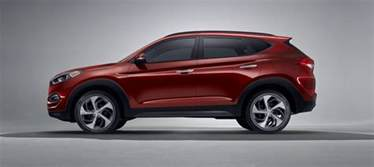 exterior image of hyundai tucson 2017 cuv with silver