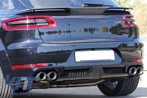Porsche Macan Boot by Trunk Boot Spoiler Porsche Macan 2014 07 2018