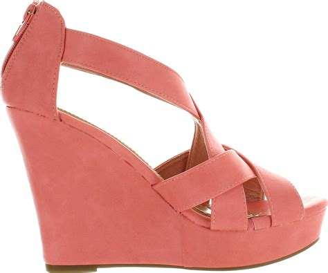 Best Seller Wedges On 02 Wedges top moda ella 18 womens gladiator wedge heel sandals ebay