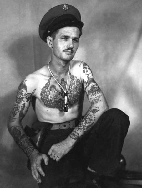 navy tattoo history ww2 tattoo tumblr